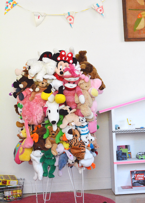 Recycled Stuffed Animal Catch All Bin