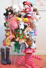 Recycled Stuffed Animal Catch All Bin and Happy New Year!