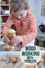Wood Working With Your Toddler – Building Future Engineers and Architects