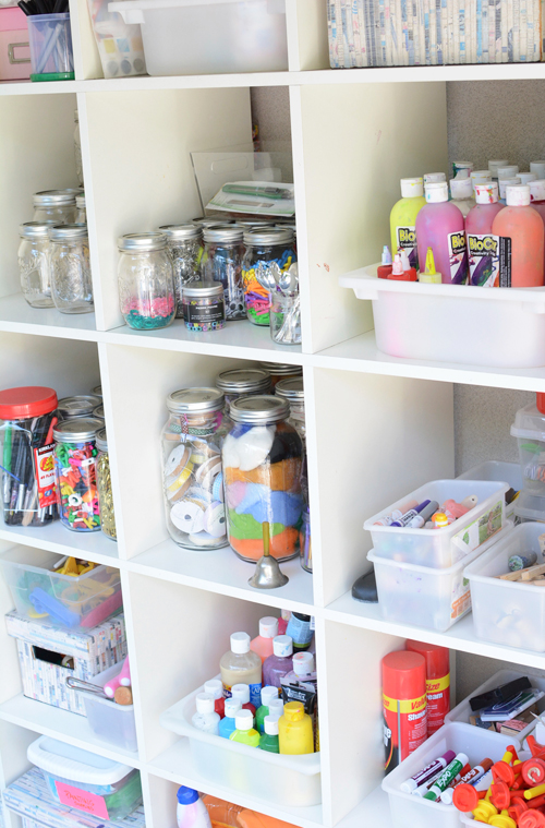 One Crafty Mom S Quest To Organize Her Art Supplies Meri