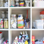 How to organize art supplies