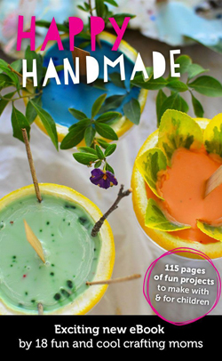 Happy Handmade Craft ebook - Awesome ideas for kids and families