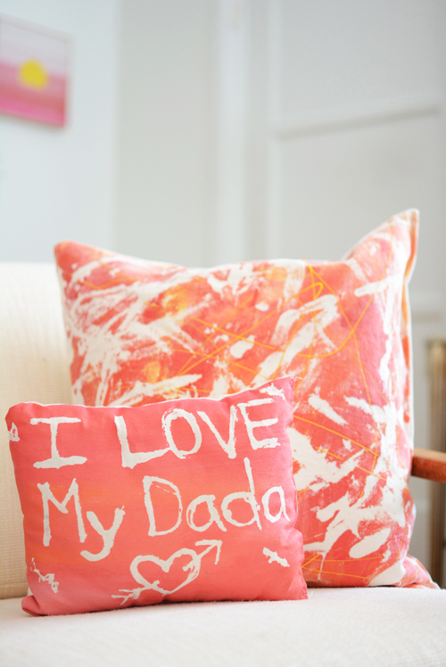 Fabric Resist Art Pillows - Meri Cherry