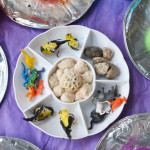 Playing with Clay for toddlers