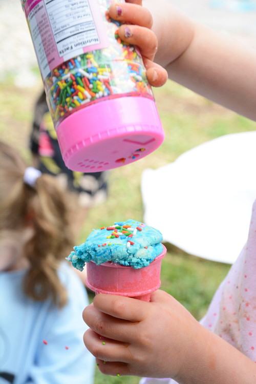 Ice Cream Dough for Toddlers and Babies