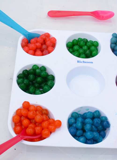 Edible Sensory play for babies and toddlers | Meri Cherry Blog