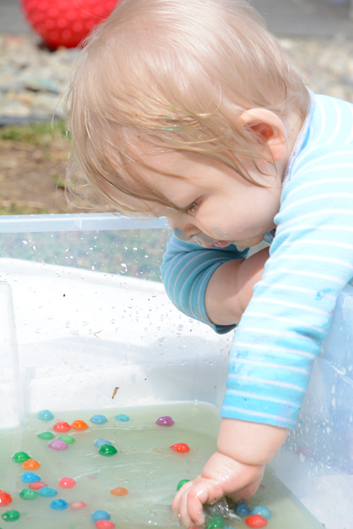 Tapioca Balls - Edible Sensory Play for Babies and Toddlers