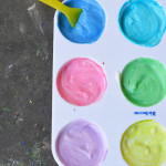 2 Ingredient Edible Paint for Babies and Toddlers
