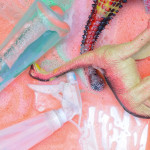 Dinosaur Sensory Play for Toddlers - Rainbow Shampoo