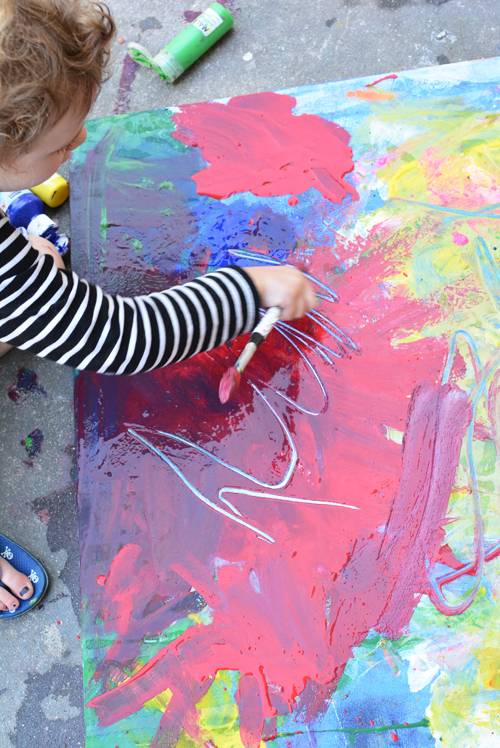 Evolving Canvas Art for Kids
