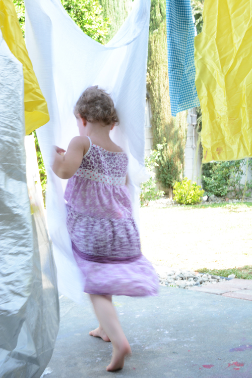 Invitation to Play with Fabric
