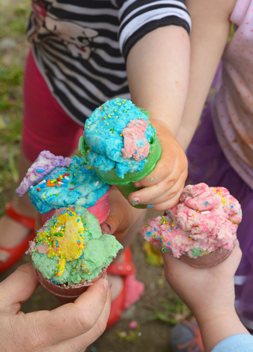 Ice Cream Dough for Kids