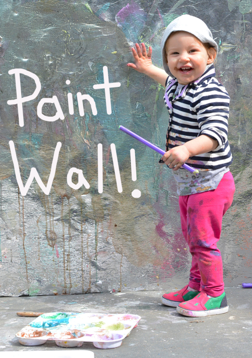 Art Play Group Painting Wall