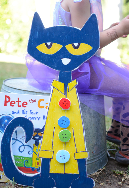 Make Pete the Cat and His Four Groovy Buttons - Literacy Activity for Kids