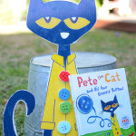 Make Pete the Cat and His Four Groovy Buttons - Reading extension for Kids