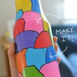 Make Your Own Milk Jar Vase