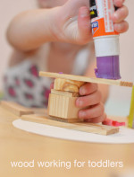 Wood Working with Toddlers  Family Process Art