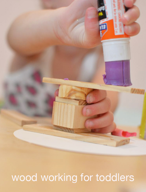 Wood Working for Toddlers - Family Process Art