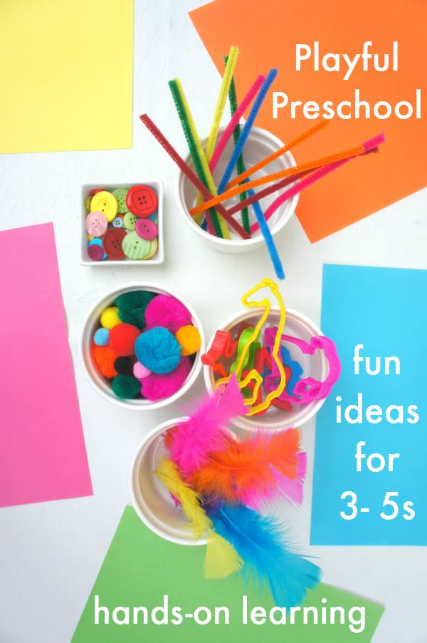 Aweseom ebook for preschoolers.  Really great ideas for art and play.