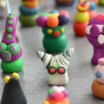 Sculpey Alien Army - Ultimate Summer Art Supply List - Meri Cherry Blog