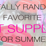 Must Have Art Supply List for Summer | Meri Cherry Blog