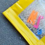Make your own sensory bean bags