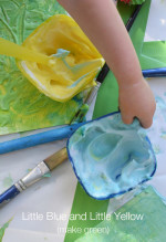 Little Blue and Little Yellow Make Green – Paint Mixing for Toddlers
