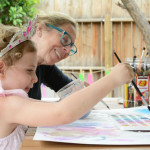Art Collaboration - Family Process Art  | Meri Cherry Blog