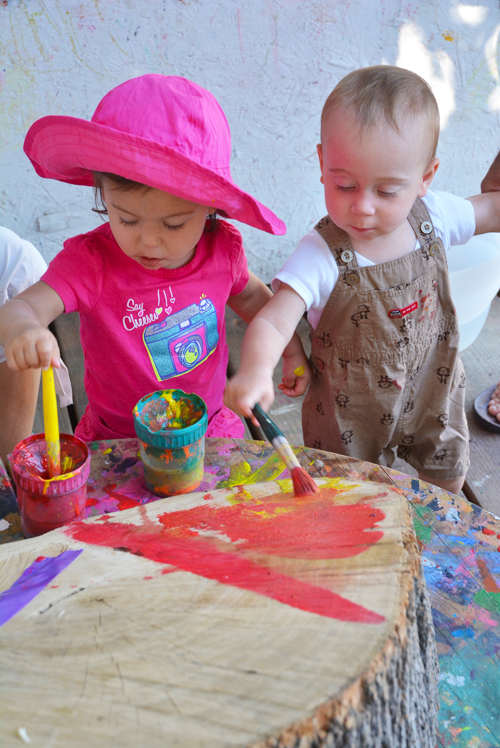 Tree Painting for Toddlers