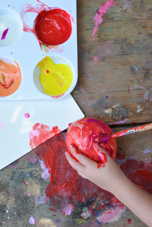 Water Balloon Painting Art Activity for Kids