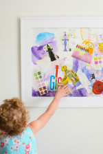 Guest Post – Mixed Media Collage for Kids