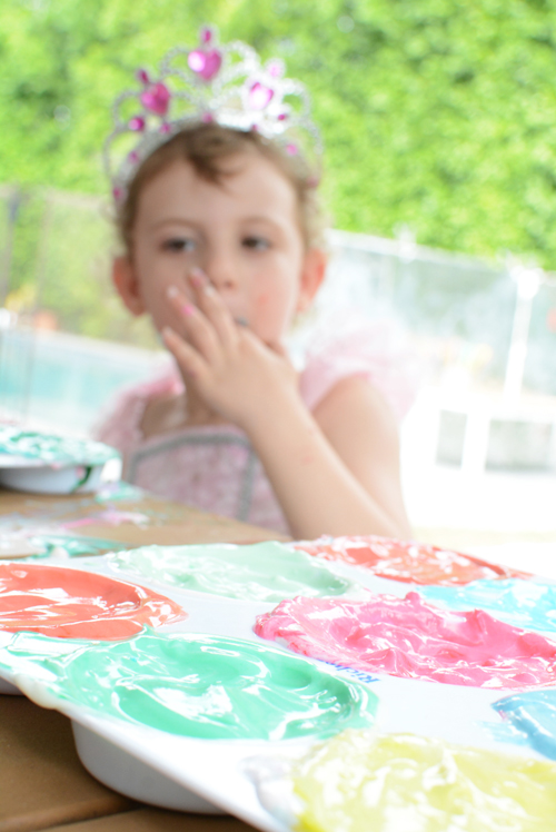 How To Make Edible Paint For Babies And Toddlers Meri Cherry