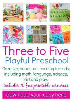 Three to Five Playful Preschool ebook for Kids