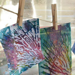 Printmaking with young children - 3 easy techniques