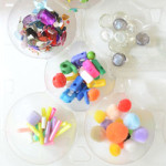 Tons of creative ideas for kids to use tinker trays