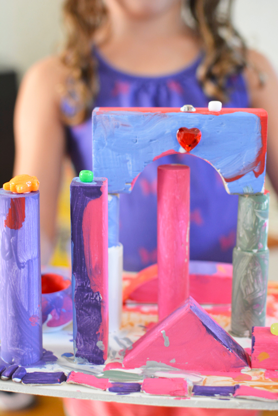 Create and Build with wood - Introduction to design and architecture for kids