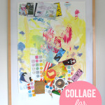 How to make collage art with preschoolers