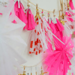 Confessions of a craft night host - paper tassels