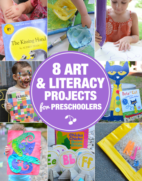 8 Art and Literacy Projects for Preschoolers
