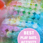Best. Play Date. Activity. Ever. - Simple Sensory Science Activity for Kids
