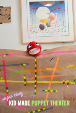 Make and Play – The Easiest Puppet Theater for Kids
