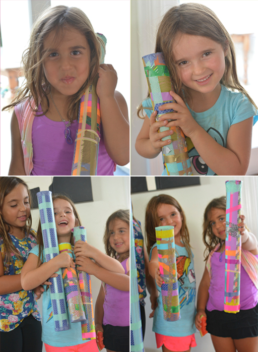 How to make rain sticks with kids