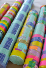 Make Washi Tape Rainsticks