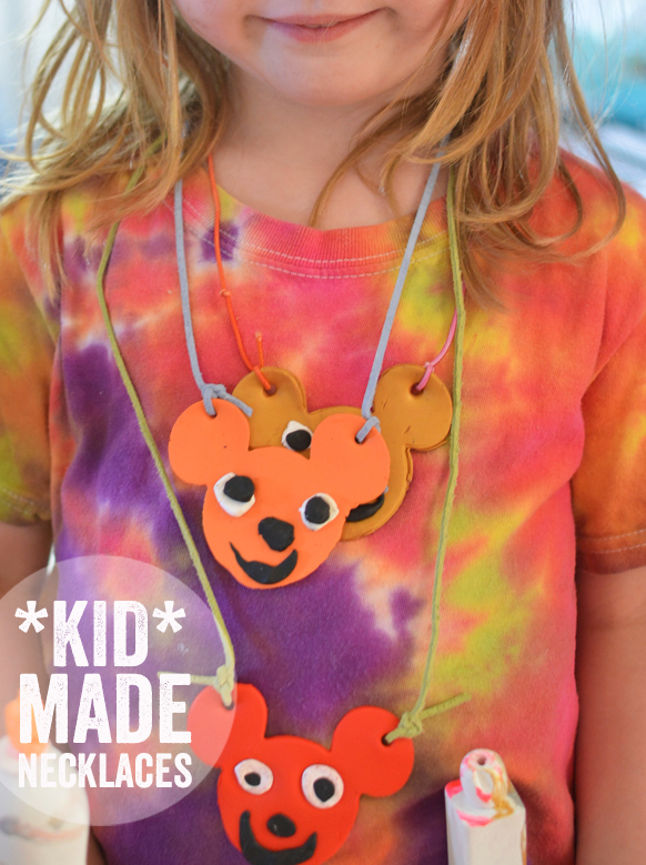 Kid Made Necklaces – Easy Art Project