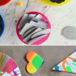 Make a Spin Art Buffet Bar