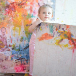 Toddler Masterpiece Canvas Art