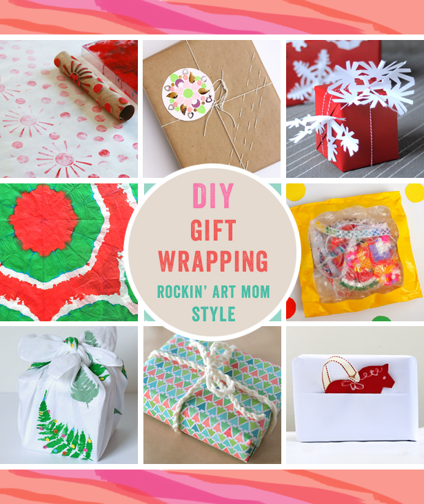 DIY Gift Wrapping Paper Ideas for the Holidays