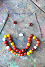 Simple Fall Activity – Make Bead Sculptures