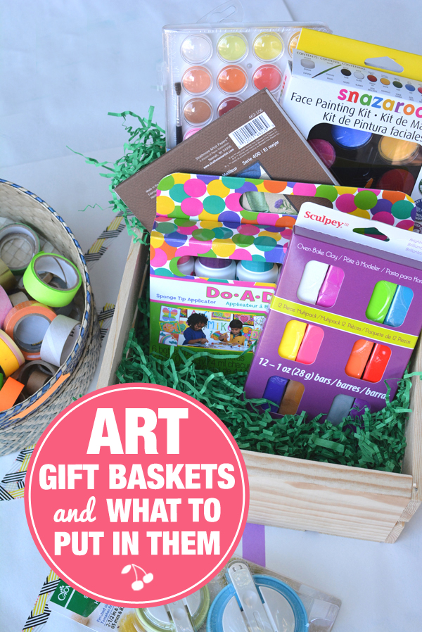 DIY Art Gift Baskets and The Best Art Supplies to Put in Them