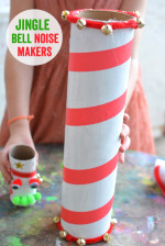 Christmas Sensory Play – Jingle Bell Noisemakers